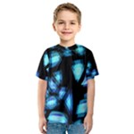 Blue light Kids  Sport Mesh Tee