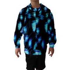 Blue light Hooded Wind Breaker (Kids)