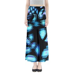 Blue light Maxi Skirts