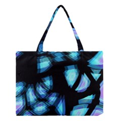 Blue light Medium Tote Bag