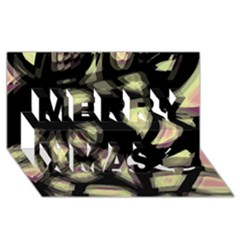 Follow The Light Merry Xmas 3d Greeting Card (8x4)