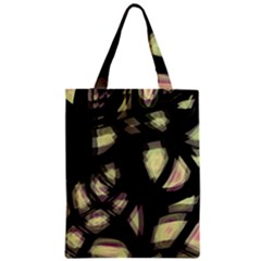 Follow The Light Zipper Classic Tote Bag