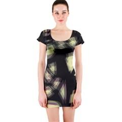 Follow The Light Short Sleeve Bodycon Dress