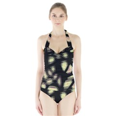 Follow The Light Halter Swimsuit