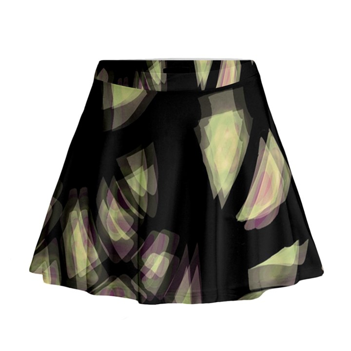 Follow the light Mini Flare Skirt