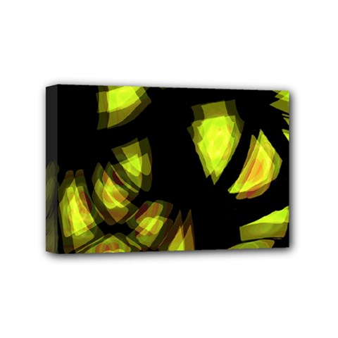 Yellow Light Mini Canvas 6  X 4