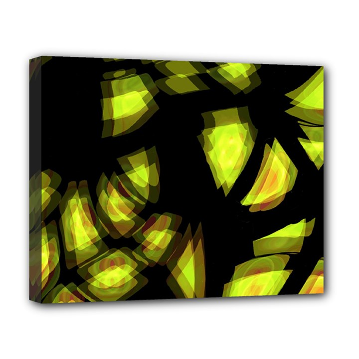 Yellow light Deluxe Canvas 20  x 16