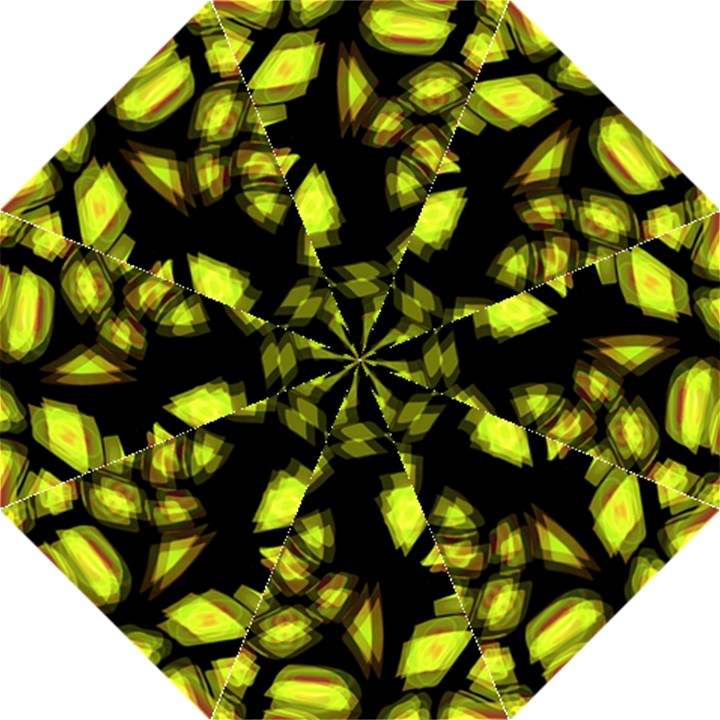 Yellow light Hook Handle Umbrellas (Medium)