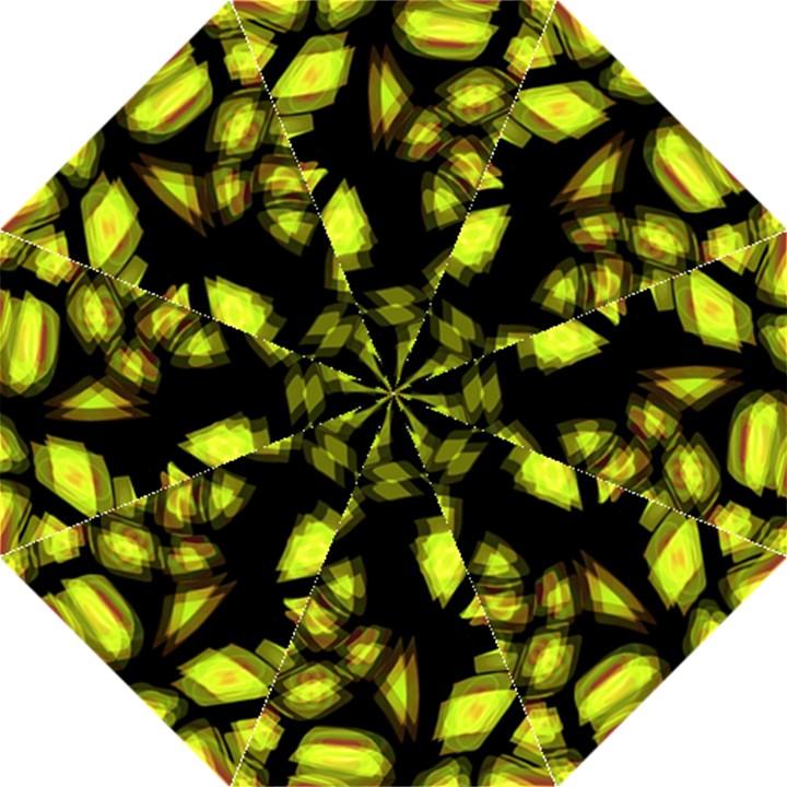 Yellow light Hook Handle Umbrellas (Large)