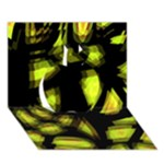 Yellow light Apple 3D Greeting Card (7x5)