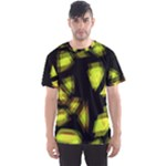 Yellow light Men s Sport Mesh Tee