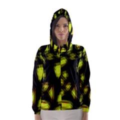 Yellow Light Hooded Wind Breaker (women)