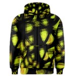 Yellow light Men s Zipper Hoodie