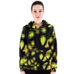 Yellow light Women s Zipper Hoodie