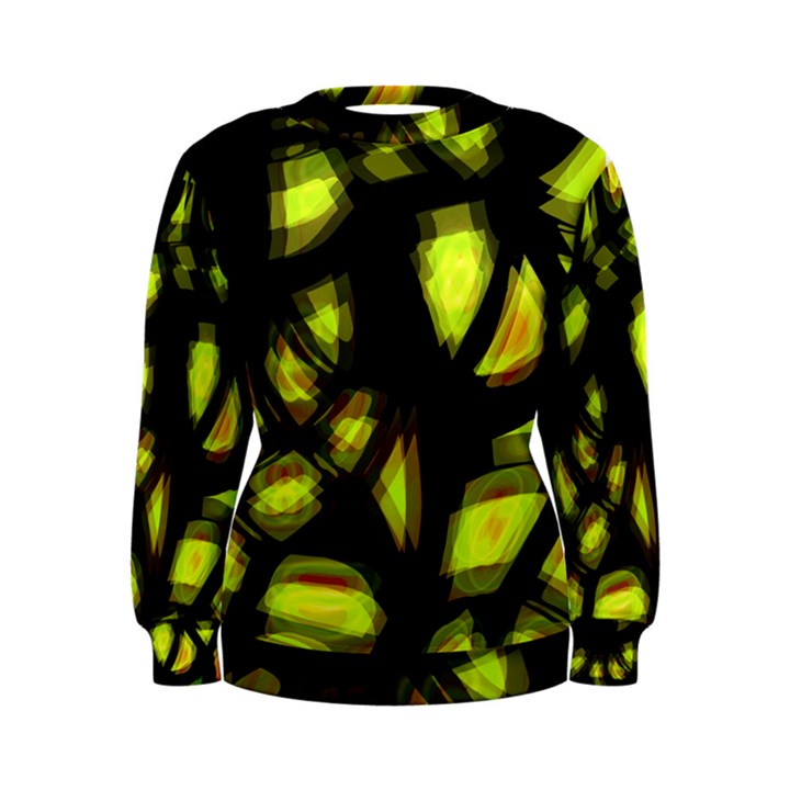 Yellow light Women s Sweatshirt