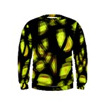 Yellow light Kids  Sweatshirt