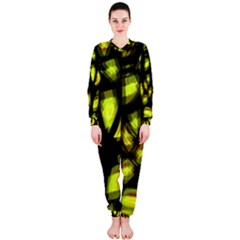 Yellow Light Onepiece Jumpsuit (ladies)