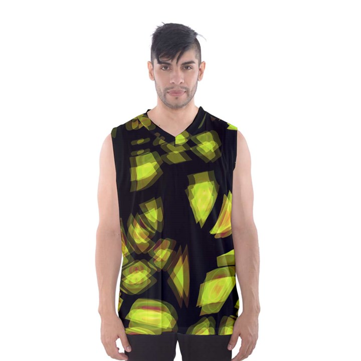 Yellow light Men s Basketball Tank Top