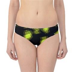 Yellow Light Hipster Bikini Bottoms