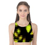 Yellow light Tank Bikini Top