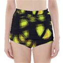 Yellow light High-Waisted Bikini Bottoms View1