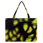 Yellow light Medium Zipper Tote Bag
