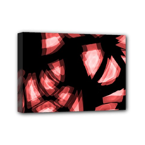 Red light Mini Canvas 7  x 5