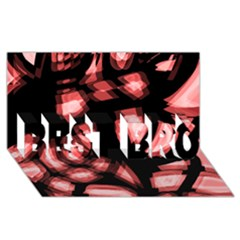 Red Light Best Bro 3d Greeting Card (8x4)