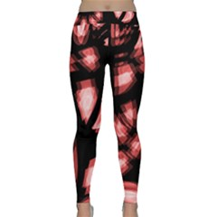 Red light Yoga Leggings