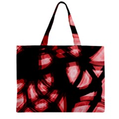 Red light Zipper Mini Tote Bag