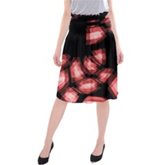 Red light Midi Beach Skirt