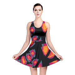 Hot, Hot, Hot Reversible Skater Dress