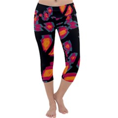 Hot, Hot, Hot Capri Yoga Leggings
