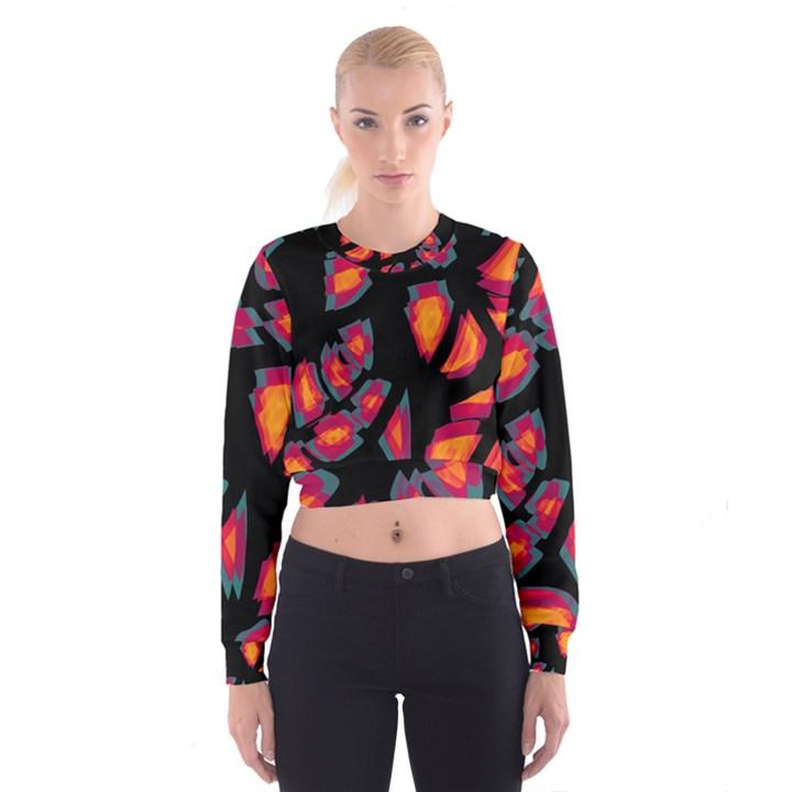 Hot, hot, hot Women s Cropped Sweatshirt
