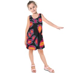 Hot, Hot, Hot Kids  Sleeveless Dress