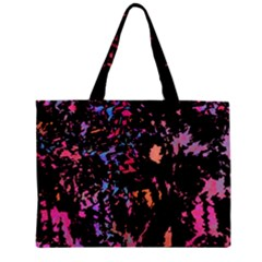 Put Some Colors    Zipper Mini Tote Bag by Valentinaart