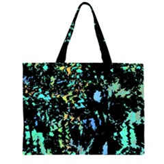 Colorful Magic Zipper Large Tote Bag by Valentinaart