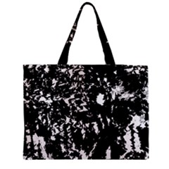 Black And White Miracle Medium Tote Bag by Valentinaart