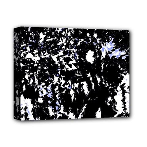 Little Bit Of Blue Deluxe Canvas 14  X 11  by Valentinaart