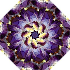 Purple Abstract Geometric Dream Straight Umbrellas by DanaeStudio