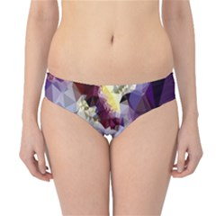 Purple Abstract Geometric Dream Hipster Bikini Bottoms by DanaeStudio