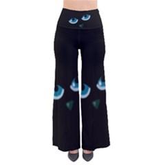 Halloween   Black Cat   Blue Eyes Pants by Valentinaart
