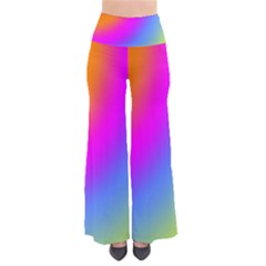 Radial Gradients Red Orange Pink Blue Green Pants by EDDArt