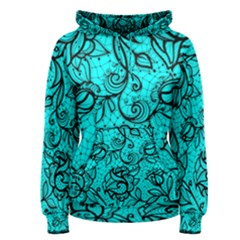 Elegant Lace  Women s Pullover Hoodie