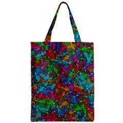 Lizards Zipper Classic Tote Bag by Valentinaart
