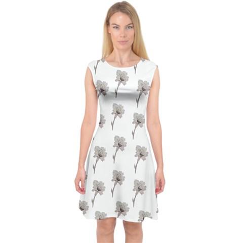 Capsleeve Midi Dress