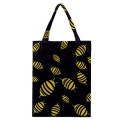 Decorative Bees Classic Tote Bag by Valentinaart
