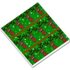 Reindeer Pattern Small Memo Pads by Valentinaart