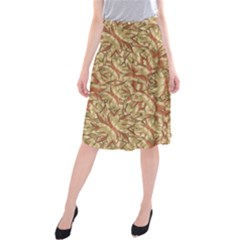 Geometric Bold Cubism Pattern Midi Beach Skirt by dflcprintsclothing