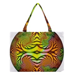 Fractals Ball About Abstract Medium Tote Bag by AnjaniArt